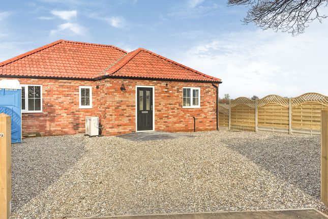 Thumbnail Detached bungalow for sale in Castle Road, Wormegay, King's Lynn