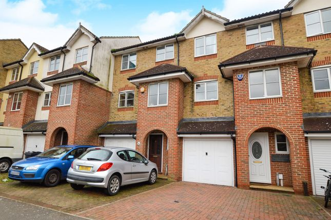 Thumbnail Town house for sale in Manor House Drive, Kingsnorth, Ashford