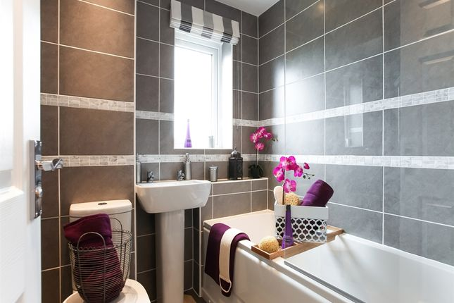 """Thumbnail Semi-detached house for sale in """"The Middlesbrough"""" at Riber Drive, Chellaston, Derby"""