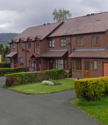 Thumbnail Terraced house to rent in White Meadow Close, Craven Arms