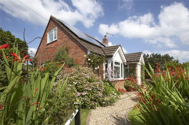 Thumbnail Detached bungalow for sale in Talaton, Exeter, Devon