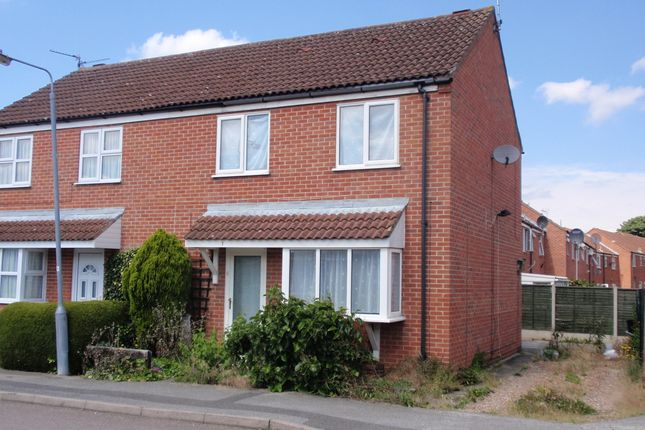 3 bed semi-detached house to rent in Old Mill Crescent, Newark