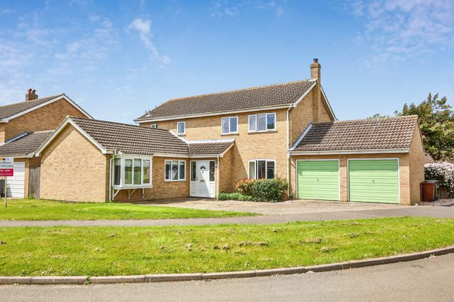 Thumbnail Detached house for sale in The Fields, Tacolneston, Norwich