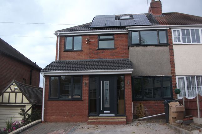 Thumbnail Semi-detached house for sale in Stanford Avenue, Great Barr