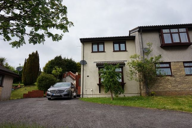 Thumbnail Semi-detached house to rent in Bay View Gardens, Skewen, Neath, .