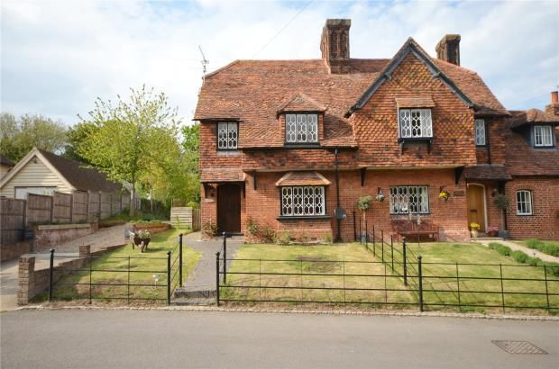 Thumbnail Semi-detached house for sale in The Street, Furneux Pelham, Hertfordshire