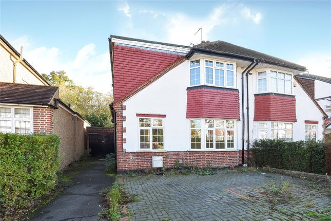 4 bed semi-detached house for sale in St Michaels Crescent, Pinner, Middlesex