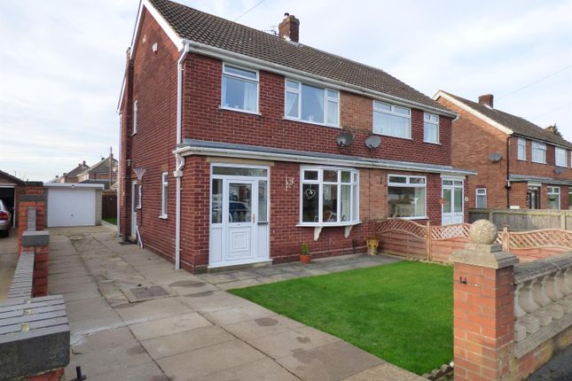 Thumbnail Semi-detached house for sale in Charles Avenue, New Waltham, Grimsby
