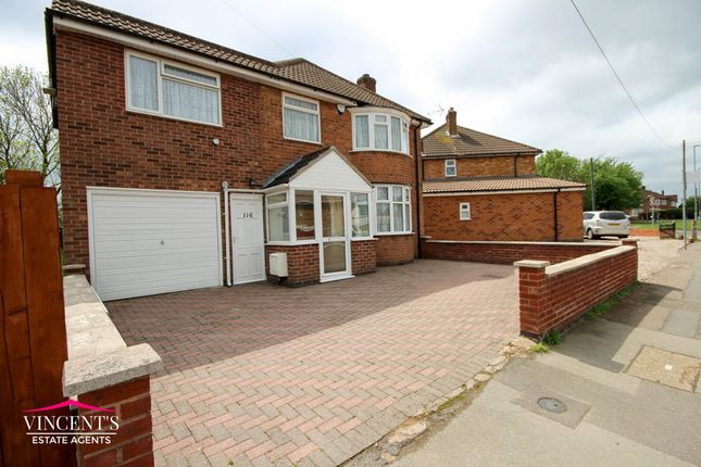Thumbnail Detached house for sale in Turnbull Drive, Leicester