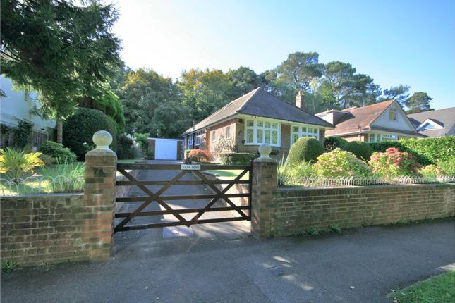 Thumbnail Bungalow for sale in Elgin Road, Parkstone, Poole