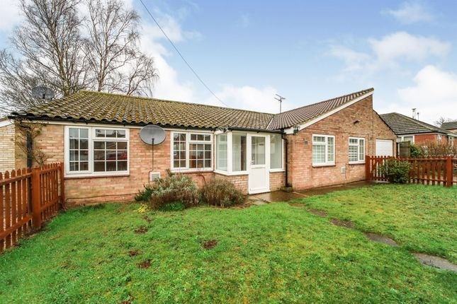 Thumbnail Detached bungalow for sale in Eriswell Drive, Lakenheath, Brandon