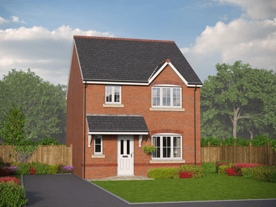 Thumbnail Detached house for sale in Village Road, Northop Hall, Flintshire