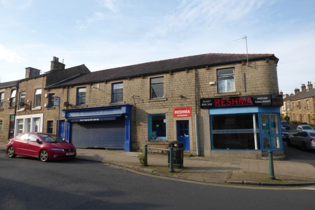Thumbnail Retail premises for sale in Station Road Hadfield, Glossop