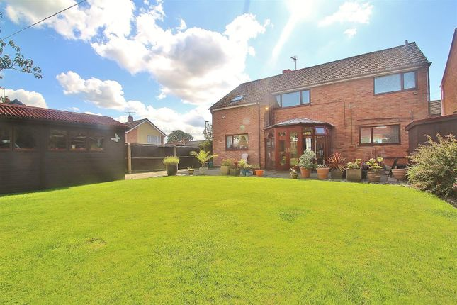 Thumbnail Detached house for sale in Outfields Drive, Cropston, Leicestershire