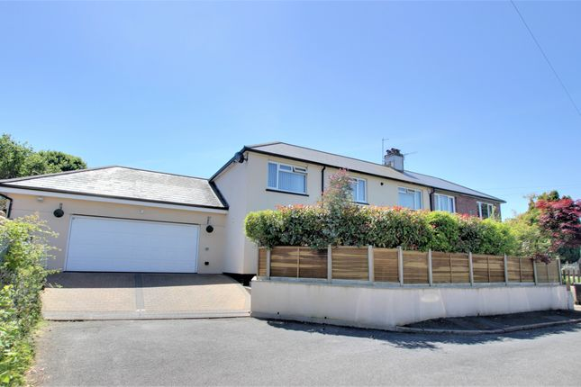 Thumbnail Semi-detached house for sale in Corn Park, South Brent