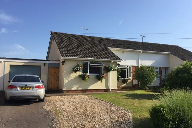 3 bed semi-detached bungalow for sale in Moss Lane, Ruishton, Taunton
