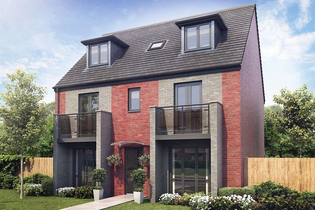 "Thumbnail Detached house for sale in ""The Newton "" at Aykley Heads, Durham"