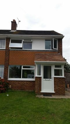Thumbnail End terrace house to rent in Verwood Close, Canterbury