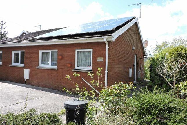 Thumbnail Semi-detached bungalow for sale in Graig Court, Graig Road, Glais