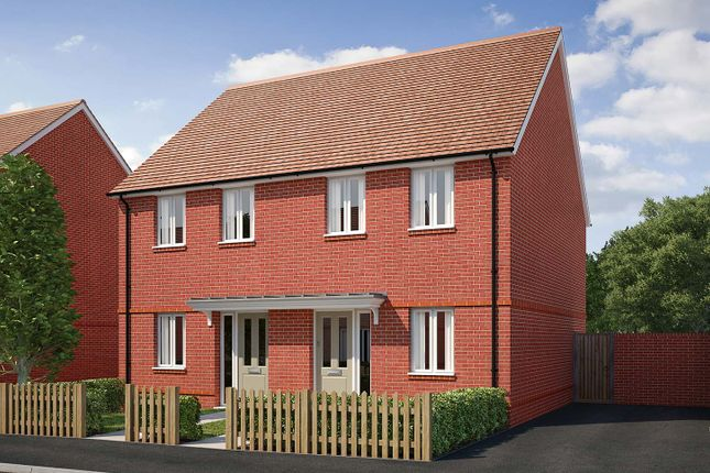"Thumbnail End terrace house for sale in ""The Bowes"" at Saunders Way, Basingstoke"