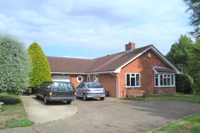 Thumbnail Detached bungalow for sale in Julian Road, North Wootton, King's Lynn