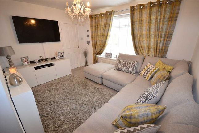 Thumbnail End terrace house for sale in Garth Close, Hook