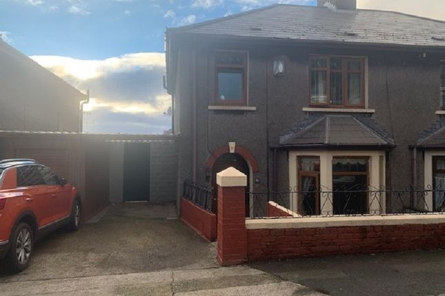 Thumbnail Semi-detached house for sale in Pellau Road, Port Talbot, Neath Port Talbot.