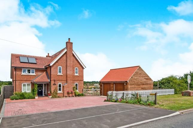Thumbnail Detached house for sale in Garvestone, Norwich, Norfolk
