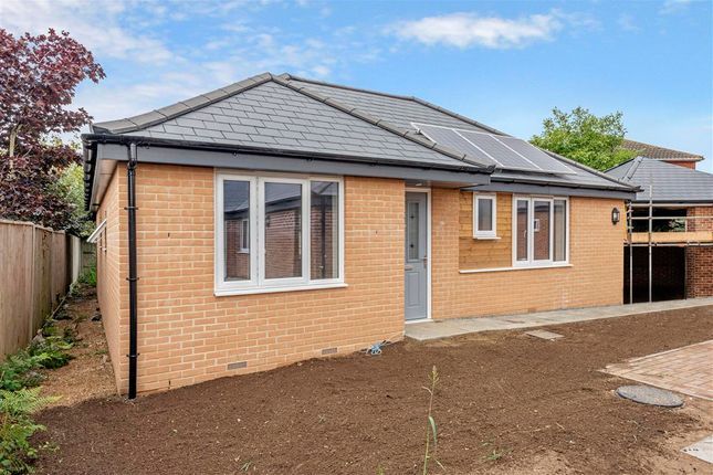 Thumbnail Detached bungalow for sale in Poplar Close, Carlton Colville, Lowestoft