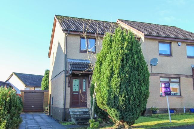 Thumbnail Semi-detached house for sale in Medrox Gardens, Cumbernauld