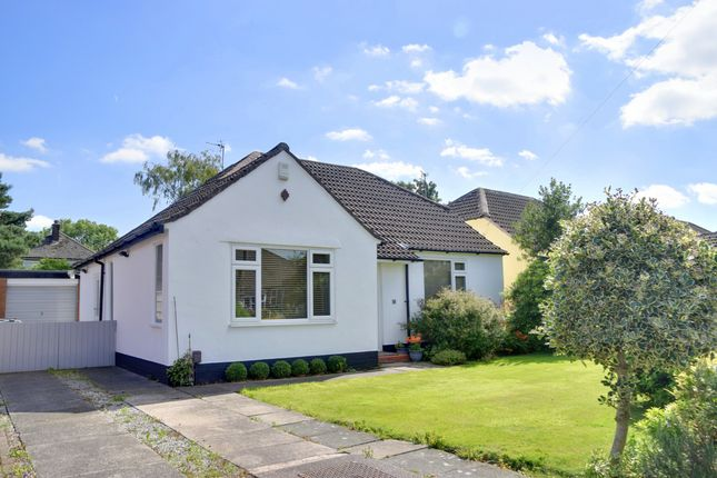 Thumbnail Detached bungalow for sale in Richmond Avenue, Handforth, Wilmslow, Cheshire
