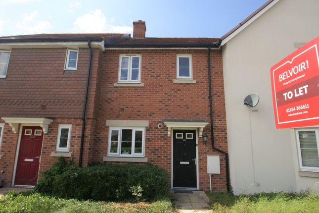2 bed terraced house to rent in Picket Twenty Way, Picket Twenty, Andover SP11