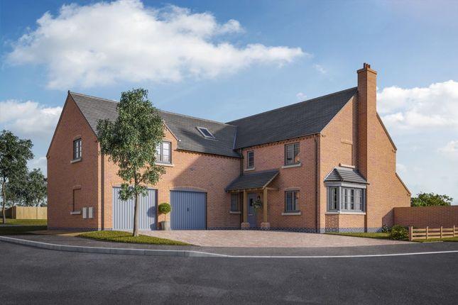 Thumbnail Detached house for sale in The Bradbourne Normanton Road, Packington, Ashby-De-La-Zouch
