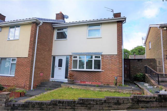 Thumbnail Semi-detached house to rent in Satley Gardens, Gateshead