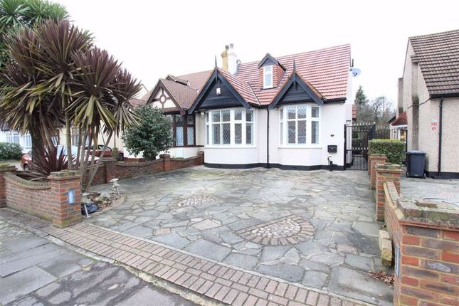 3 bed semi-detached bungalow for sale in Levett Gardens, Seven Kings, Essex IG3