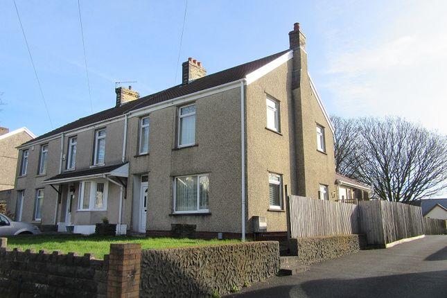 Thumbnail End terrace house for sale in Llangyfelach Road, Llangyfelach, Swansea.