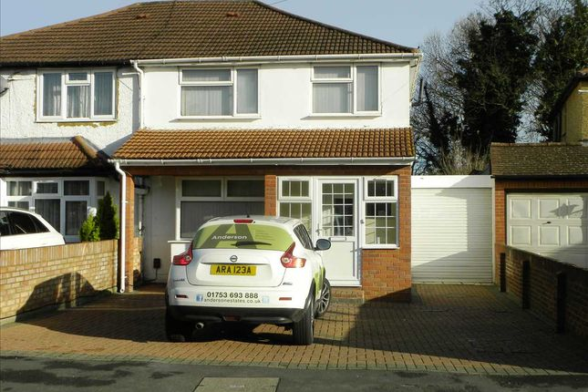 Thumbnail Semi-detached house to rent in Seymour Road, Slough