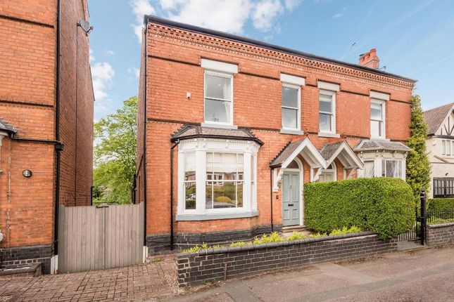 Thumbnail 4 bed semi-detached house for sale in Kingscote Road, Harborne, Birmingham