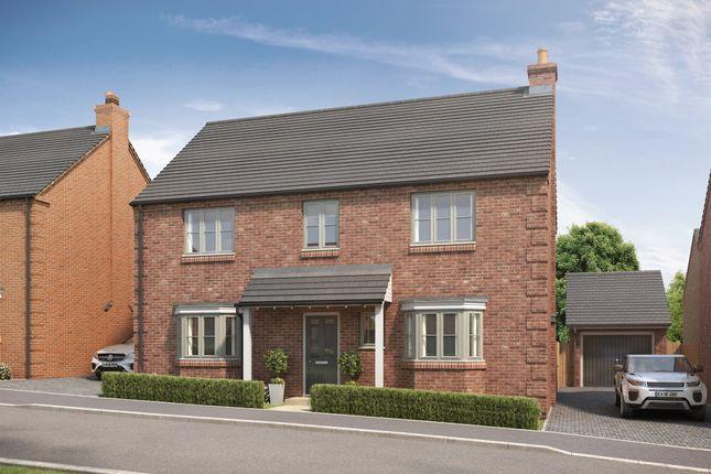 Thumbnail Detached house for sale in Plot 4 - The Ash, Wood Lane, Gedling, Nottingham