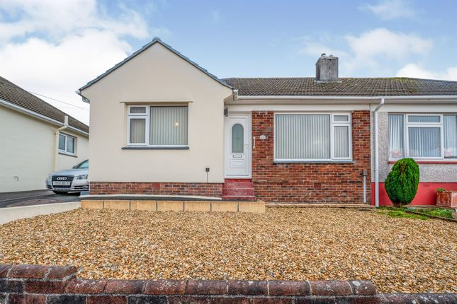 Thumbnail Semi-detached bungalow for sale in Kingswear Crescent, Eggbuckland, Plymouth