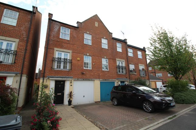 Thumbnail End terrace house for sale in Regent Mews, York