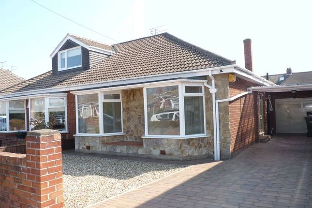 Thumbnail Bungalow to rent in Ross Way, Whitley Lodge, Whitley Bay