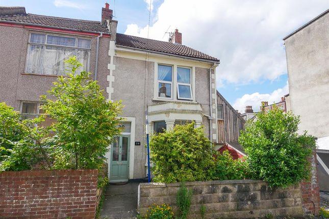 Thumbnail End terrace house to rent in Islington Road, Southville, Bristol
