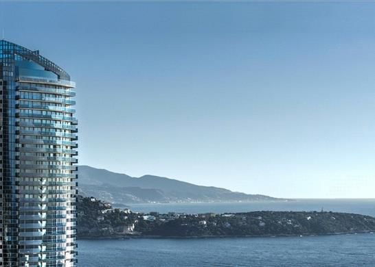 Thumbnail Apartment for sale in 36 Avenue De L'annonciade, 98000 Monaco