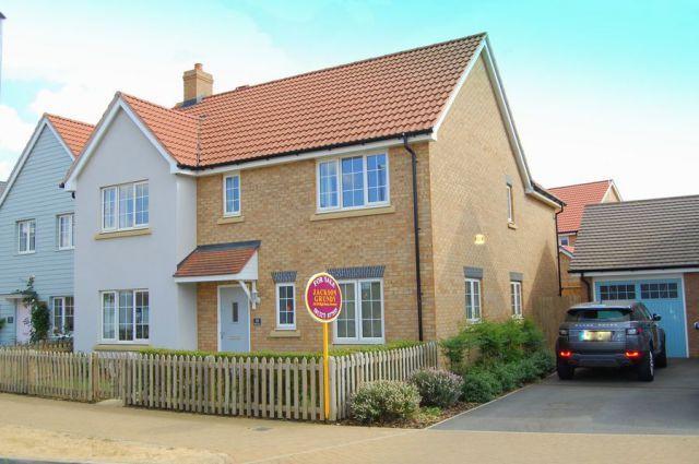Thumbnail Detached House For Sale In Battle Avenue Monksmoor Park Daventry