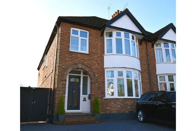 Thumbnail Semi-detached house for sale in Church Green Road, Milton Keynes