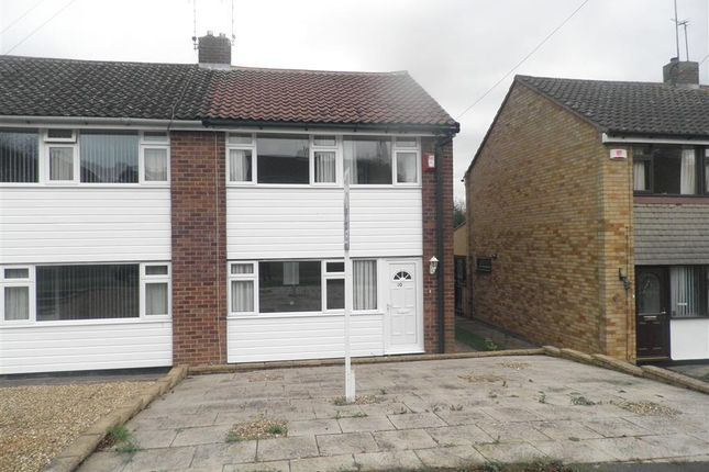 Thumbnail End terrace house to rent in Carlton Road, Bilton, Rugby