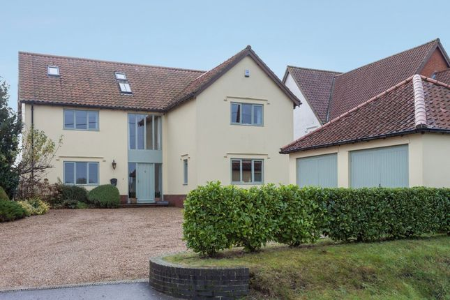 Thumbnail Detached house for sale in Silver Street, Besthorpe, Attleborough