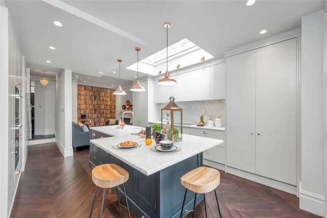 Thumbnail Terraced house for sale in Antrobus Road, Chiswick Park, Chiswick, London