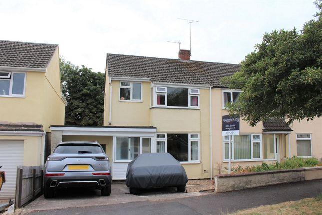 Thumbnail Semi-detached house for sale in Galmington Drive, Taunton